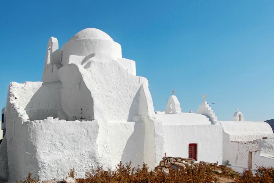 mykonos monument religieux panagia parapotiani