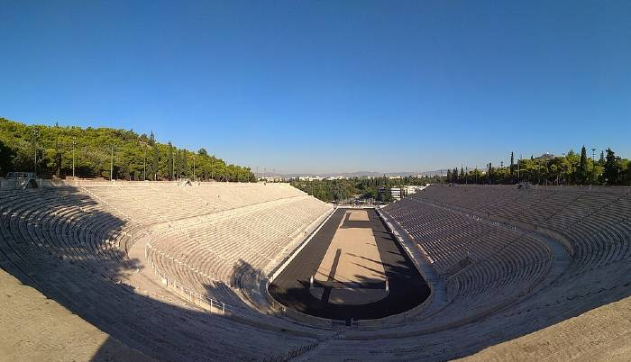 Le stade Panathinaiko à Athènes