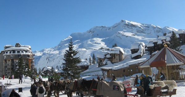 Avoriaz Station ski Piétonne