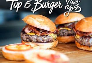 Top 5 des meilleurs burgers de New-York