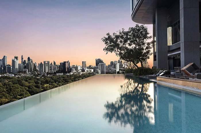piscine rooftop hotel so sofitel bangkok