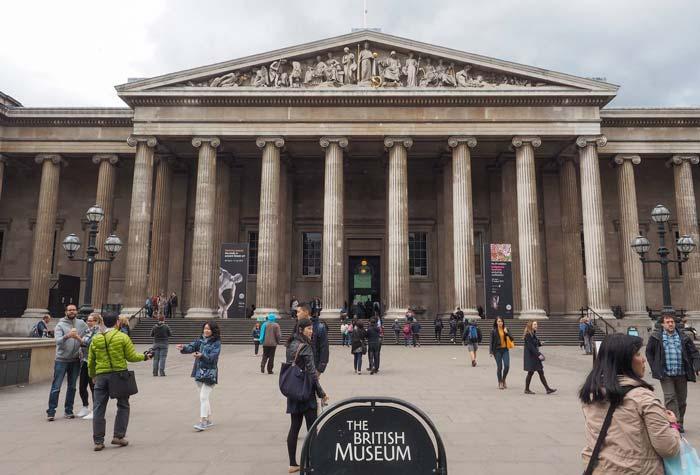 le British Museum, un site incontournable à visiter à Londres