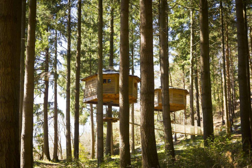 Une cabane dans les arbres - Les bed & spa les plus insolites du moment