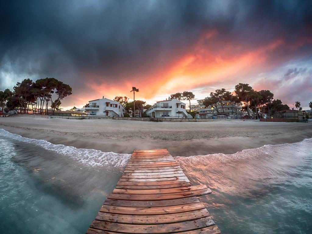 Playa de Muro Majorque Espagne
