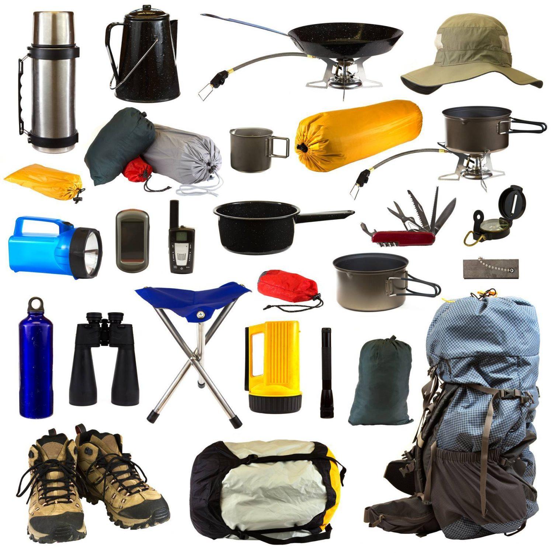 équipements et matériel de camping